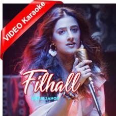 Filhaal - Female Version - Mp3 + VIDEO Karaoke - Nupur Sanon