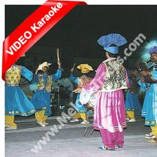 Aj kala joda pa - Remix - Mp3 + VIDEO Karaoke - Folk Punjabi