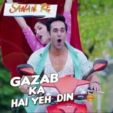 Ghazab Ka Hai Yeh Din - Karaoke Mp3 - Arijit Singh - Sanam Re