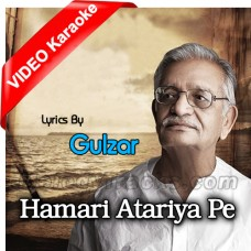 Hamari Atariya Pe - Mp3 + VIDEO Karaoke - Various Singer