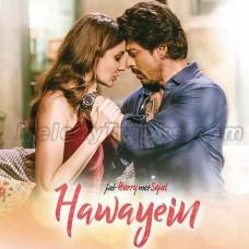 Hawayein - Karaoke Mp3 - Arijit Singh - Jab Harry Met Sajal