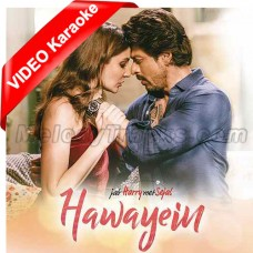 Hawayein - Mp3 + VIDEO karaoke - Arijit Singh - Jab Harry Met Sajal