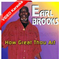 How Great Thou Art - Caribbean - Mp3 + VIDEO Karaoke - Earl Brook - Something Nice 2008