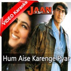 Hum Aise Karenge Pyar - Mp3 + VIDEO Karaoke - Udit Narayan - Sadhna