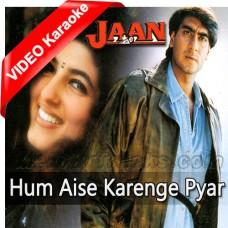 Hum Aise Karenge Pyar - Mp3 + VIDEO Karaoke - Udit Narayan - Sadhna
