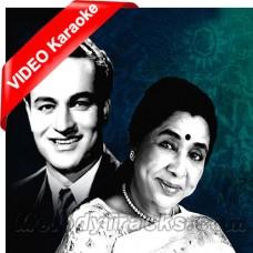 Hum Dono Milke Kaghaz Ke - Mp3 + VIDEO Karaoke - Asha Bhonsle - Mukesh