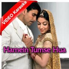 Hamein Tumse Hua Hai - Mp3 + VIDEO Karaoke - Udit Narayan - Alka Yagnik