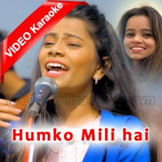 Humko Mili Hai Shanti - Mp3 + VIDEO karaoke - Christian - Divya - Roshnie