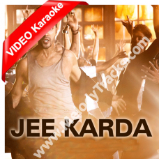 Jee karda marjaneya ni - Mp3 + VIDEO Karaoke - Badlapur (2015) - Divya Kumar