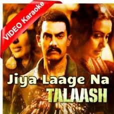 Jiya Laage Na - Mp3 + VIDEO Karaoke - Sona Mohapatra - Ravindra Upadhyay - Talaash