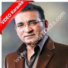 Kabhi Yaadon Mein Aaun - Mp3 + VIDEO Karaoke - Abhijeet