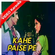Kahe Paise Pe Itna - Mp3 + VIDEO Karaoke - Kishore Kumar - Laawaris