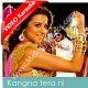 Kangna Tera Ni - Mp3 + VIDEO Karaoke - Master Rakesh - Char Din Ki Chandni