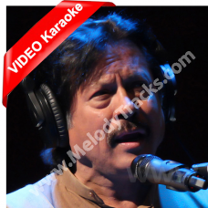 Dooron Dooron Sanu - Mp3 + VIDEO Karaoke - Attaullah