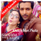 Kheech Meri Photo - Mp3 + VIDEO Karaoke - Neeti Mohan - Sanam Teri Kasam - 2016