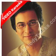Khuda kare ke mohabbat mein - Mp3 + VIDEO  Karaoke - Talat Aziz
