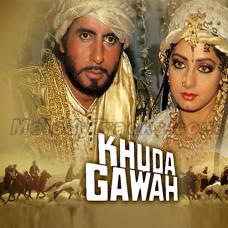 Khuda Gawah Khuda Gawah - Karaoke Mp3 - Mohammad Aziz