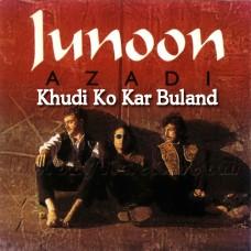 Khudi Ko Kar Buland Itna - Karaoke Mp3 - Junoon