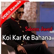 Koi Kar Ke Bahana Sanu Mil - With Rap - MP3 + VIDEO Karaoke - Saleem Javed