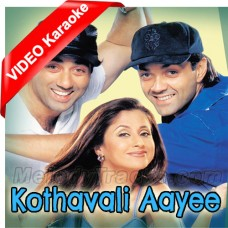 Kothavali Aaye - Mp3 + VIDEO Karaoke - Jaspinder Narula - Dilraj Kaur - Dillagi