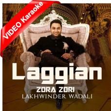 Lagiyan Joro Jori - Mp3 + VIDEO Karaoke - Lakhwinder Wadali