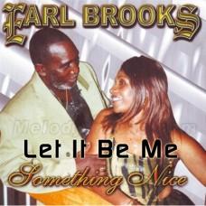 Let It Be Me - Caribbean - Karaoke Mp3 - Earl Brooks - Pan Music - Steel Band