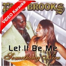 Let It Be Me - Caribbean - Mp3 + VIDEO Karaoke - Earl Brooks - Pan Music - Steel Band