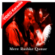 Mere Rashke Qamar - Mp3 + VIDEO Karaoke - Nusrat Fateh with Chorus