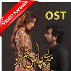 Mere Paas Tum Ho - OST - Mp3 + VIDEO Karaoke - Rahat Fateh Ali Khan