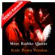 Mere Rashke Qamar - Mp3 + VIDEO Karaoke - Nusrat Fateh without Chorus Scale Down - 4