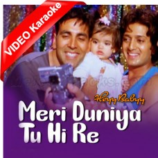 Meri Duniya Tu Hi Re - Mp3 + VIDEO Karaoke - Sonu Nigam - Shaan - Shankar Mahadevan