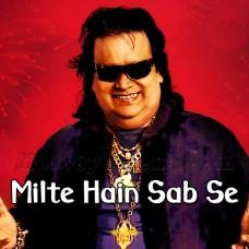 Milte Hain Sab Se - Karaoke Mp3 - Bappi Lehiri - Keh Do Pyar Hai