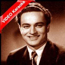 Kise Yaad Rakhoon - Mp3 + VIDEO Karaoke - Mukesh - Anuraag 1956