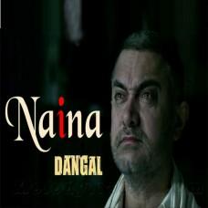 Naina - Karaoke Mp3 - Arijit Singh - Dangal