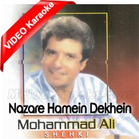 Nazare Hamein Dekhein - Mp3 + VIDEO Karaoke - Muhammad Ali Shehki