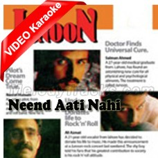 Neend Aati Nahi - Mp3 + VIDEO Karaoke - Junoon