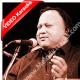 Kina sona tenu rab ne - Mp3 + VIDEO Karaoke - Nusrat Fateh