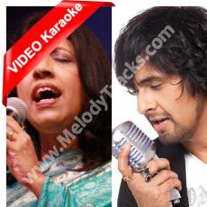Meri Duniya Hai Tujh Mein - Solo Version - Mp3 + VIDEO Karaoke - Sonu Nigam