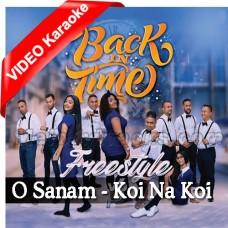 O Sanam - Koi Na Koi - Dil Tera Deewana - Medley - Mp3 + VIDEO Karaoke - Sathyam Matadin - Tamil / Bhojpuri