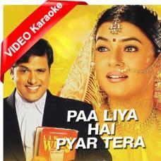 Pa Liya Hai Pyar Tera - Mp3 + VIDEO Karaoke - Udit Narayan - Alka Yagnik