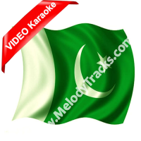 Tera pakistan hai yeh mera - Mp3 + VIDEO Karaoke - Pakistani National Patriotic - Amjad Hussain