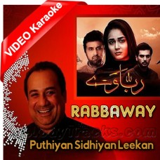 Puthiyan Sidhiyan Leekan - Mp3 + VIDEO Karaoke - Rahat Fateh Ali Khan