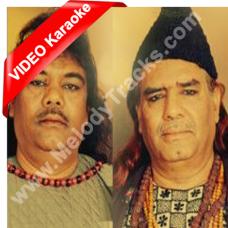 Pyar Ke Mor Par - Mp3 + VIDEO Karaoke - Sabri Brothers