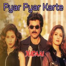 Pyar Pyar Karte Karte - Karaoke Mp3 - Abhijeet - Alka - Judaai
