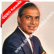 Zindagi dene wale sun - Mp3 + VIDEO Karaoke - Talat Mehmood