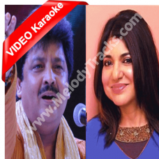 Aaja mahiya - Mp3 + VIDEO Karaoke - Udit Narayan - Alka - Fiza 2000