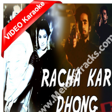 Racha kar dhong ulfat ka - Mp3 + VIDEO Karaoke - Taimoor Ahmed
