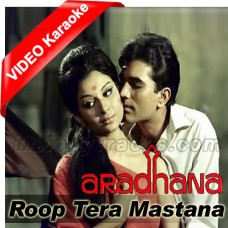 Roop tera mastana - Mp3 + VIDEO Karaoke - Ver 2 - Kishore Kumar