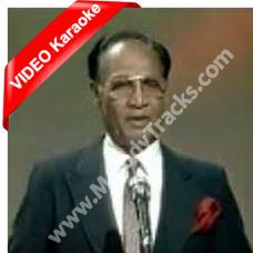 Tu jo nahi hai to - Mp3 + VIDEO Karaoke - S B John