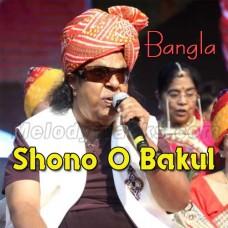 Shono O Bakul - Bangla Karaoke Mp3 - Ravindra Jain
